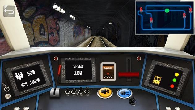 Driving Subway Simulator apk स्क्रीनशॉट