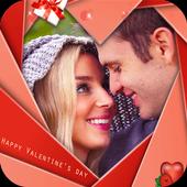 Photo Frame Valentines Heart icon