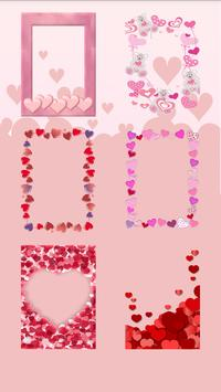 Photo Frame Valentines Heart apk screenshot