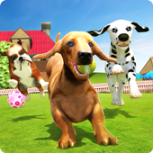 DOGS LIFE : Free Dog Games icon
