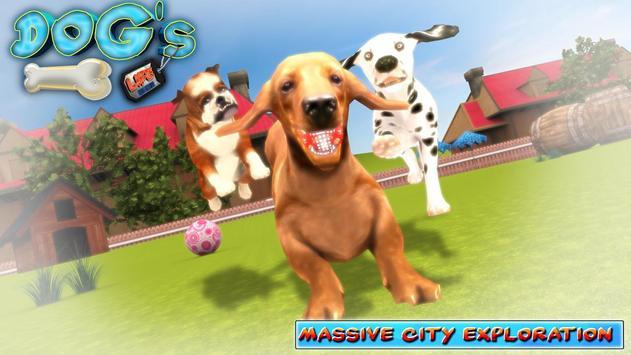 DOGS LIFE : Free Dog Games screenshot 1