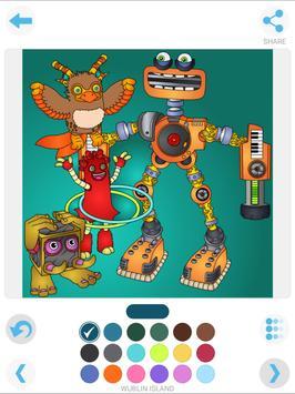 my singing monsters coloring apk screenshot
