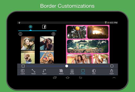 Pic Stitch - #1 Collage Maker apk screenshot