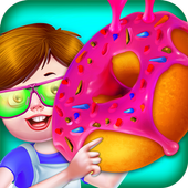 Donut Factory Maker Shop Crazy Chef icon