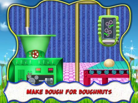 Donut Factory Maker Shop Crazy Chef apk screenshot