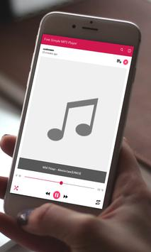 Free Simple MP3 Player apk screenshot