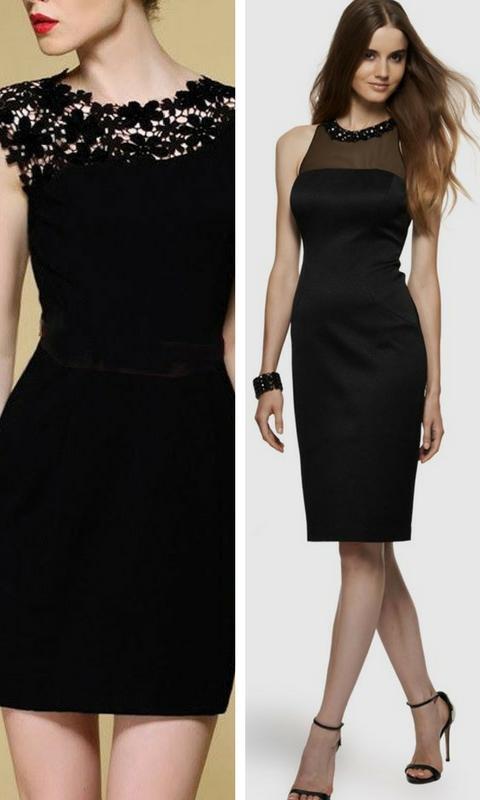 Sexy Schwarzes Kleid für Android - APK herunterladen