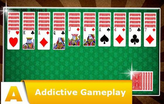 Classic Spider Solitaire -Free poster
