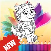 Paw Pups Coloring Book 2017 APK