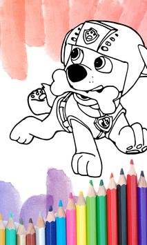 Paw Pups Coloring Book 2017 Poster