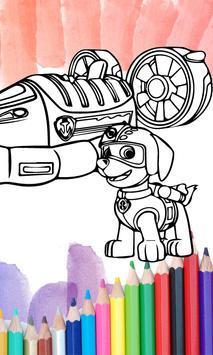 Paw Pups Coloring Book 2017 Apk Screenshot