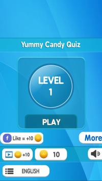 Yummy Candy Quiz poster