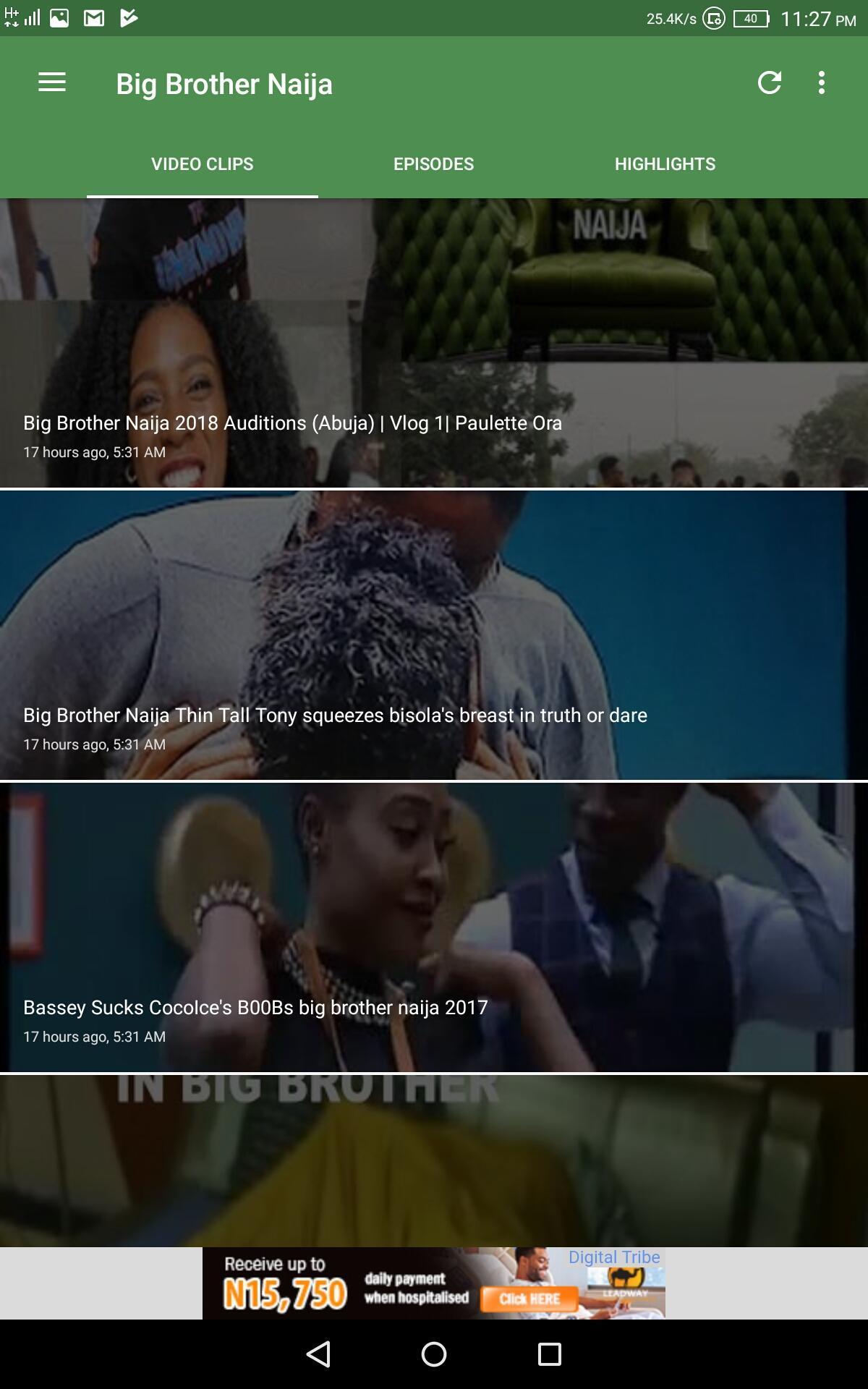 big brother video download
