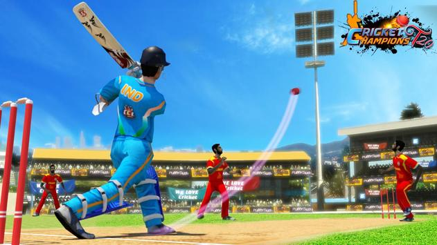 Cricket Champions T20 poster