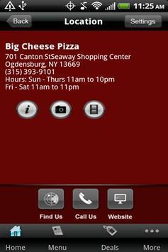 Big Cheese Pizza apk screenshot