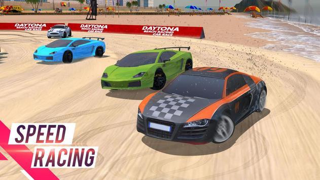 Deltona Beach Racing: corridas de carros 3D imagem de tela 1