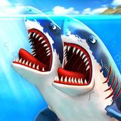 Ataque de Tubarão de Dupla Cabeça - Multijogador ícone