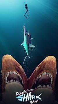 Ataque de Tubarão de Dupla Cabeça - Multijogador Cartaz