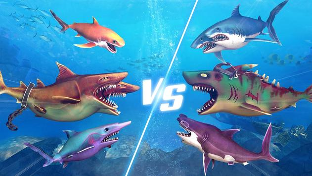 Ataque de Tubarão de Dupla Cabeça - Multijogador imagem de tela 14