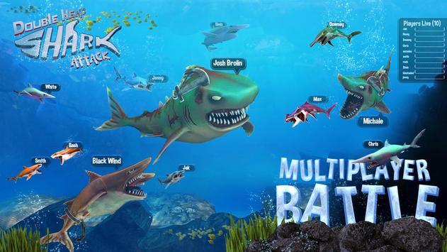 Ataque de Tubarão de Dupla Cabeça - Multijogador imagem de tela 1