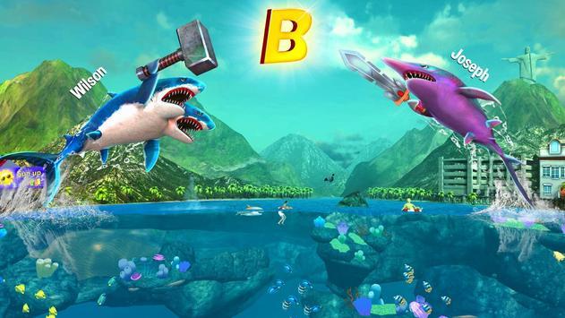 Ataque de Tubarão de Dupla Cabeça - Multijogador imagem de tela 9