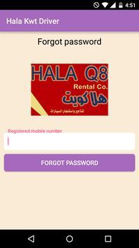 Hala Kwt Driver apk screenshot