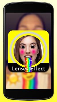 Lenses Guide for Snapchat poster