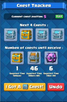 Chest Tracker for Clash Royale poster