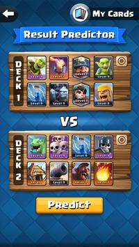 Battle Result Predictor for CR poster
