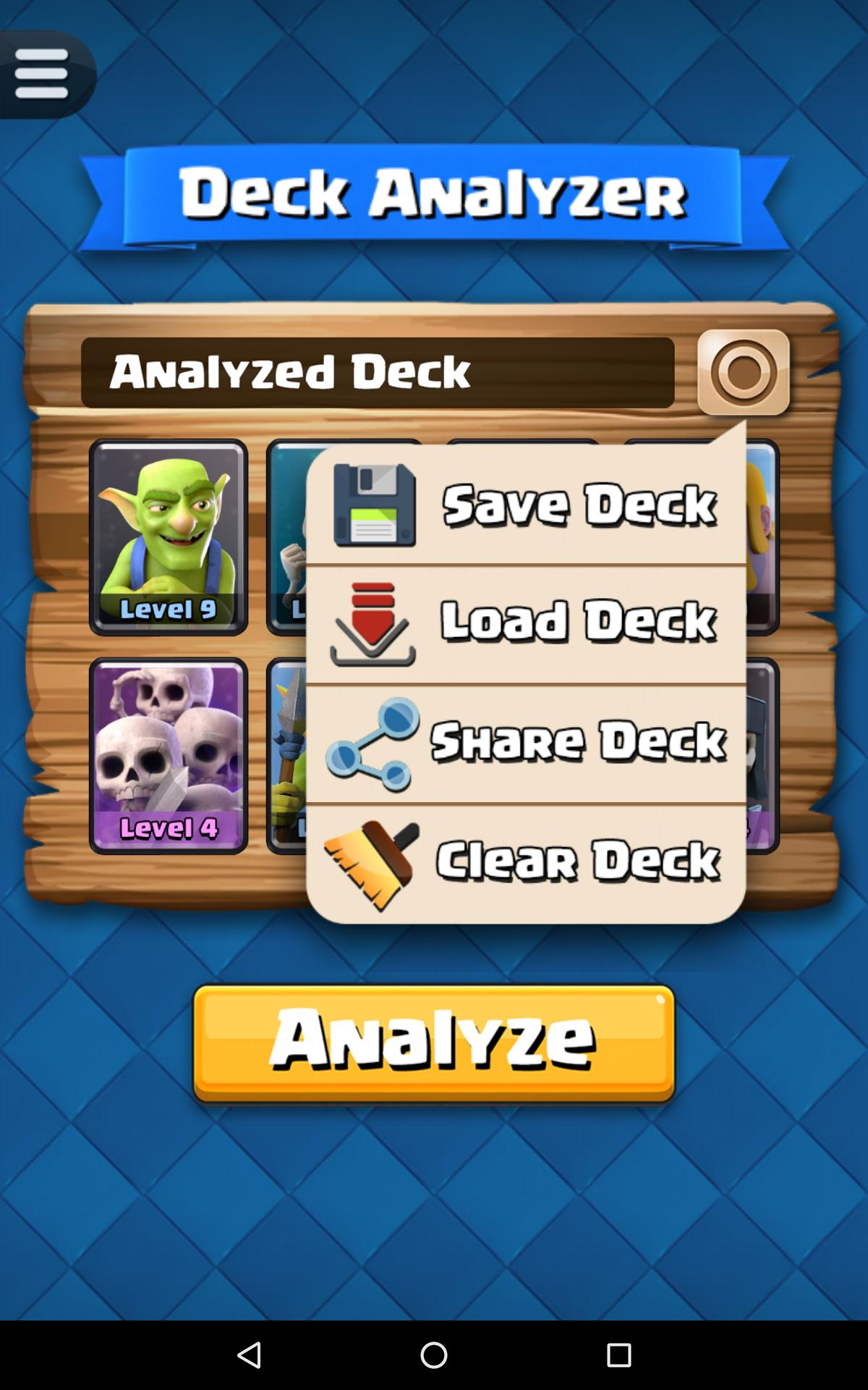 Deck Analyzer For Cr For Android Apk Download