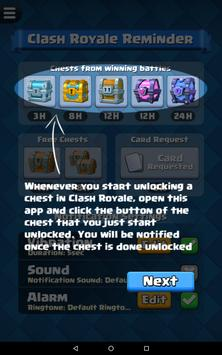 Reminder for Clash Royale screenshot 11
