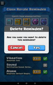 Reminder for Clash Royale screenshot 14