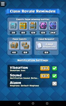 Reminder for Clash Royale screenshot 16