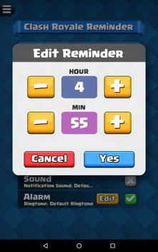 Reminder for Clash Royale screenshot 21