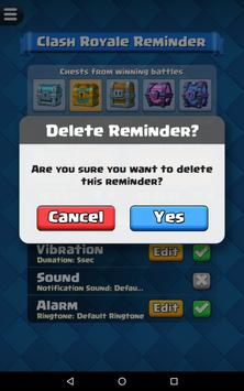 Reminder for Clash Royale screenshot 22