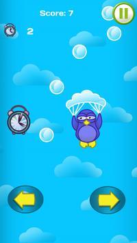 Penguin Parachute Sky Downfall apk screenshot