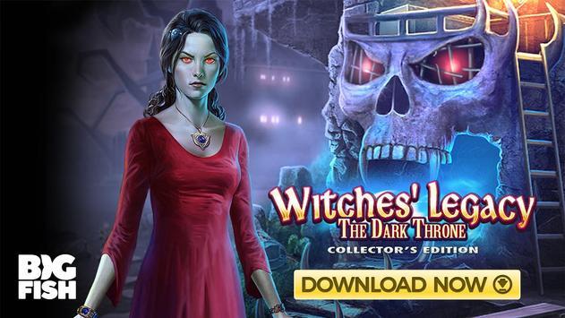 Wimmelbild - Witches' Legacy: Der dunkle Thron Screenshot 4