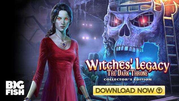 Wimmelbild - Witches' Legacy: Der dunkle Thron Screenshot 9