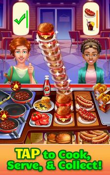 Cooking Craze - A Fast & Fun Restaurant Chef Game الملصق