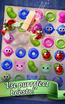 Knittens: Sweet Match 3 Puzzles & Adorable Kittens (Unreleased) screenshot 11