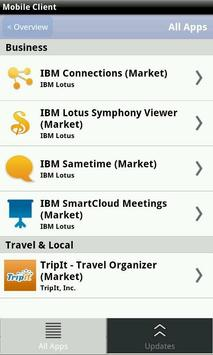 IBM Mobile Client apk screenshot