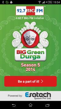 Big Green Durga poster
