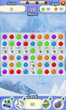 Christmas Games: Match 3 Winter Game for Christmas screenshot 1