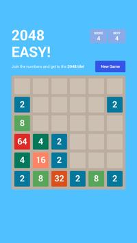 Puzzle 2048 EASY! poster