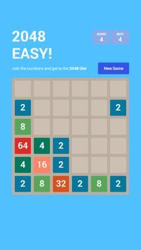 Puzzle 2048 EASY! apk screenshot