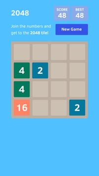Puzzle 2048 apk screenshot
