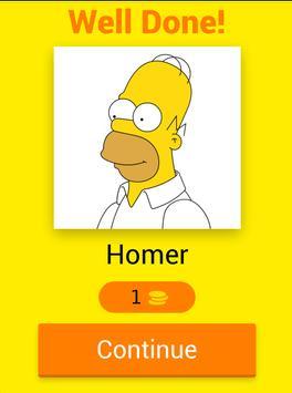 The Simpsons Quiz screenshot 16