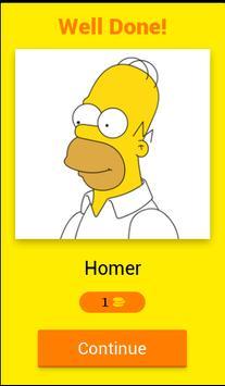 The Simpsons Quiz screenshot 2