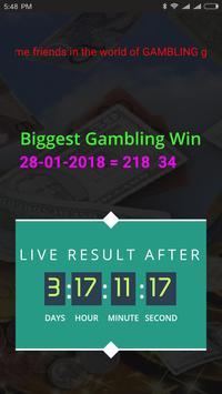 Gambling Win poster
