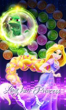 long hair princess bubble screenshot 1